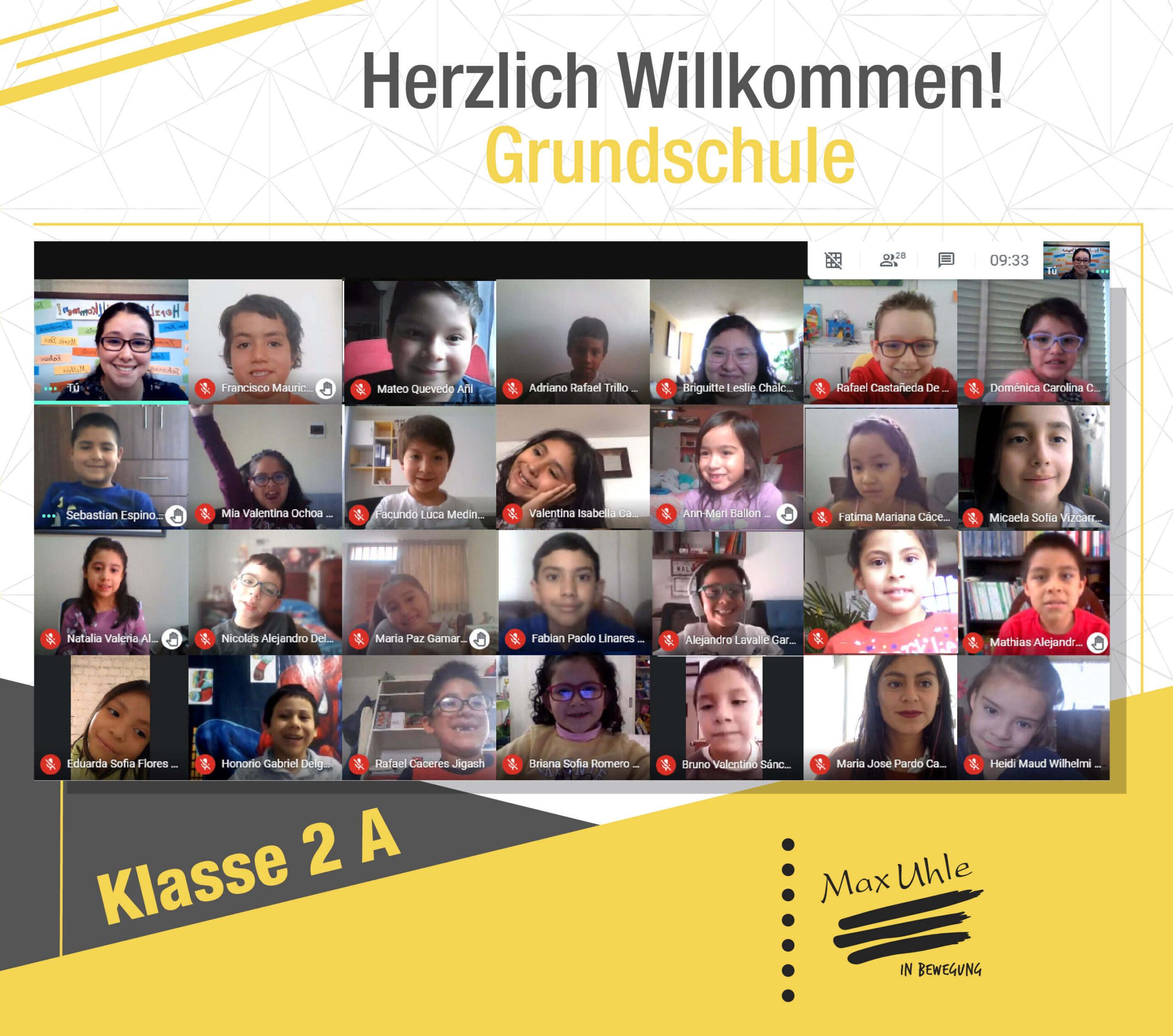 regreso a clases 2021 Grundschule 2A