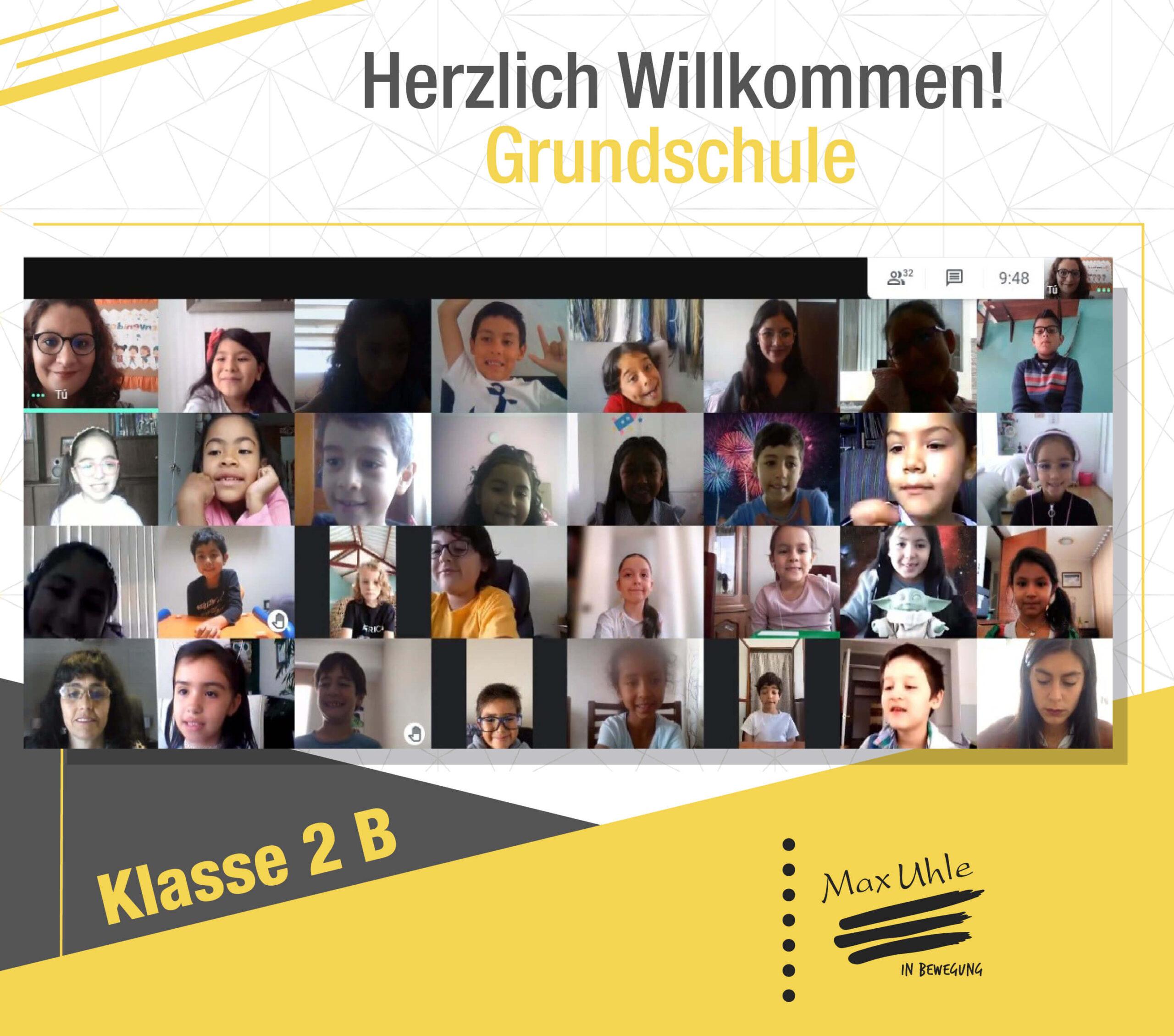 regreso a clases 2021 Grundschule 2B