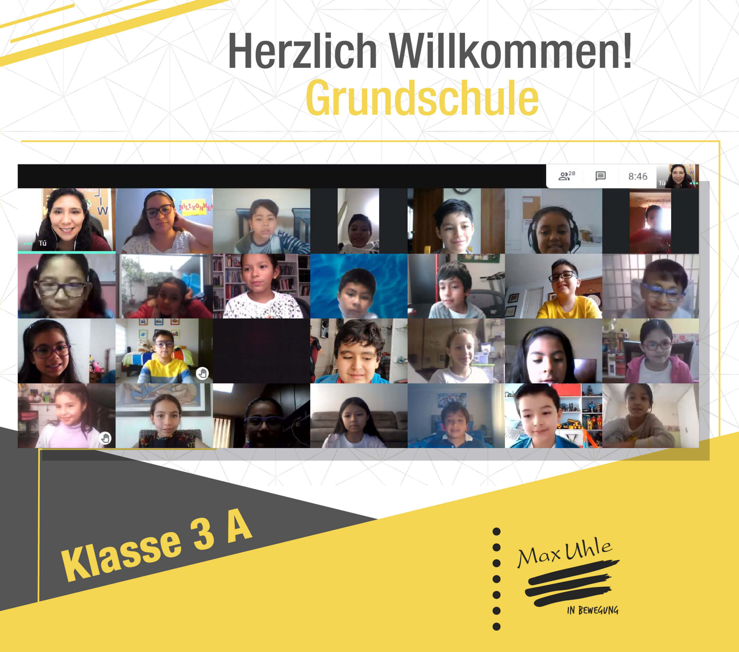regreso a clases 2021 Grundschule 3A