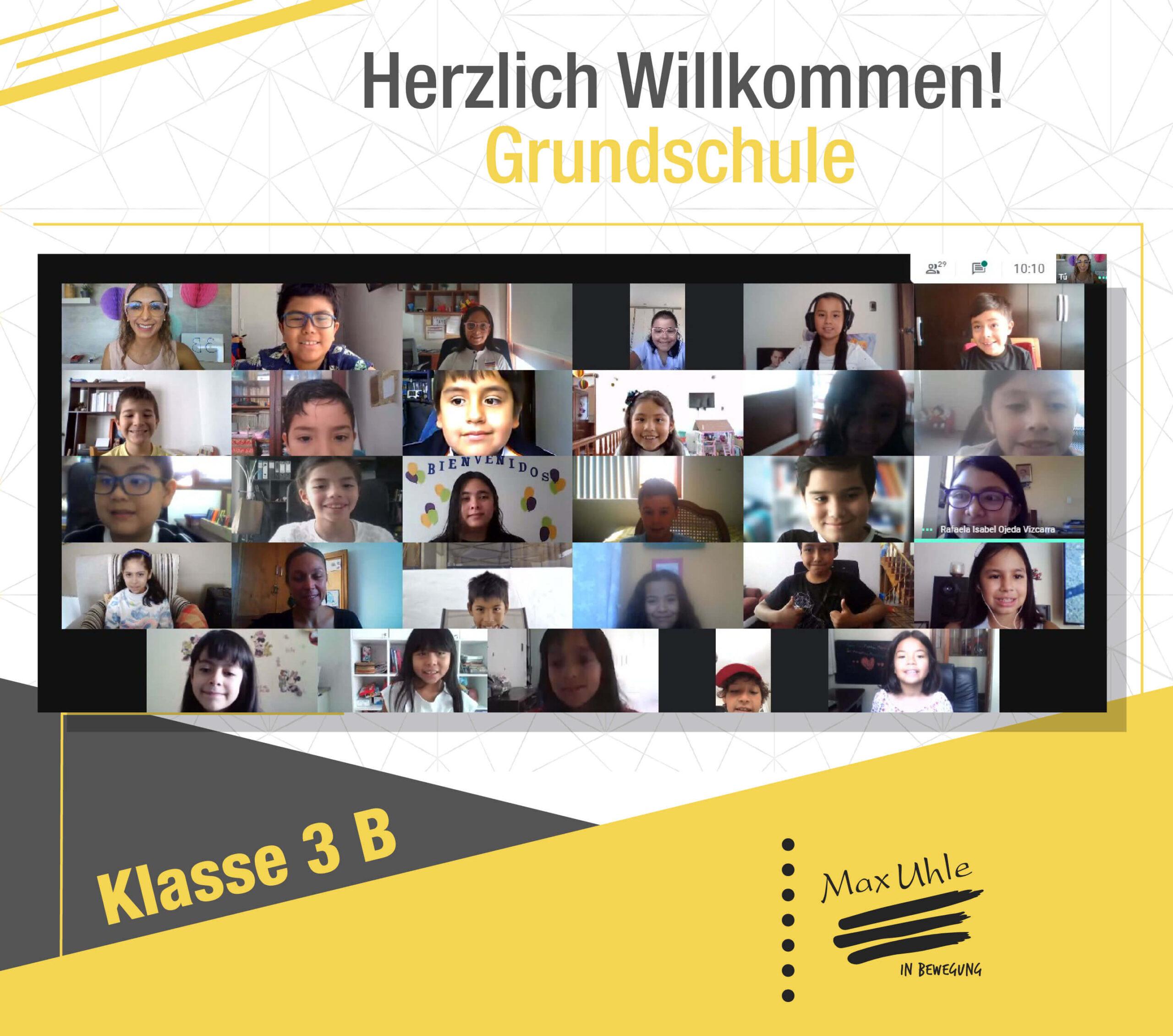 regreso a clases 2021 Grundschule 3B