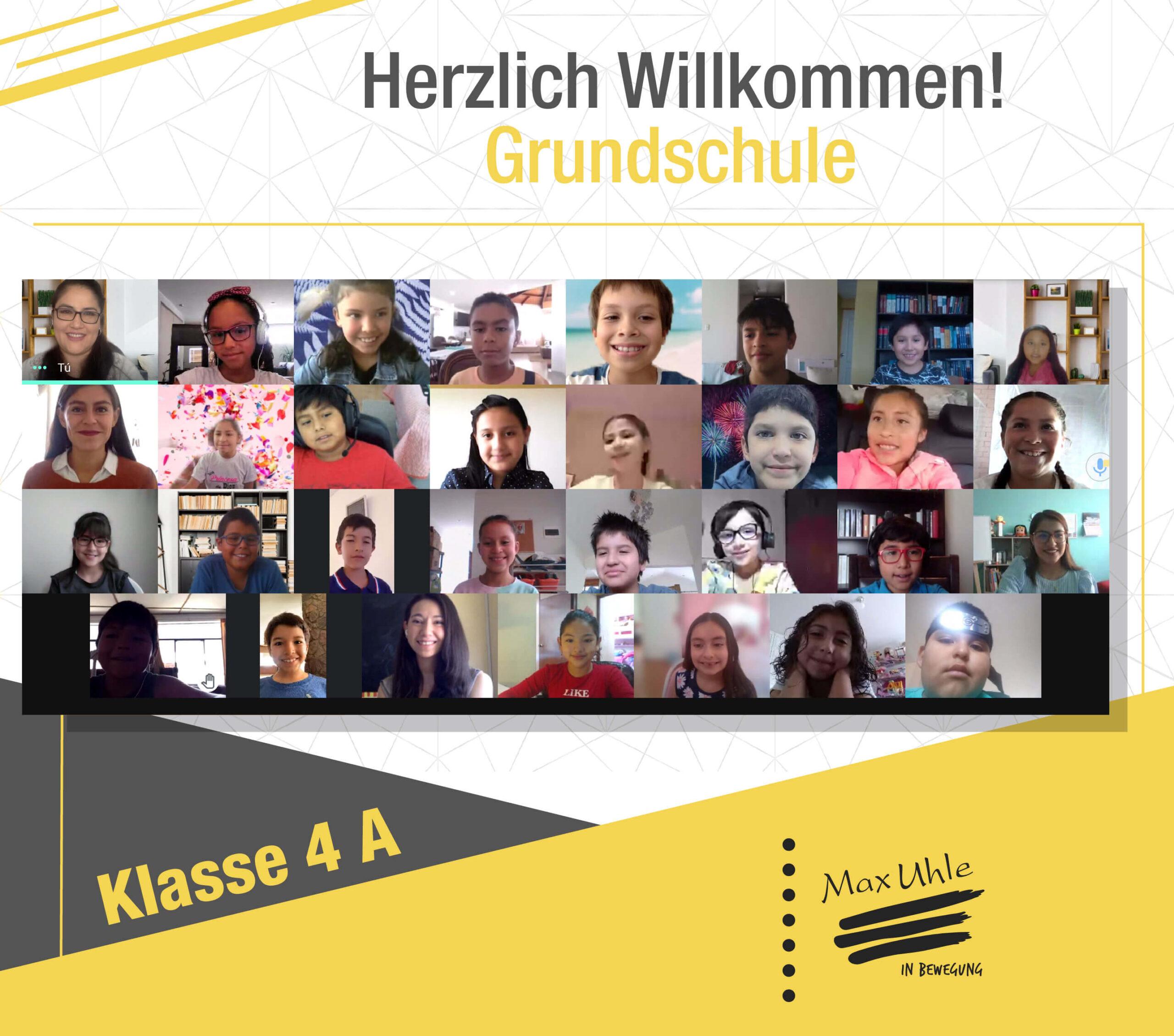 regreso a clases 2021 Grundschule 4A
