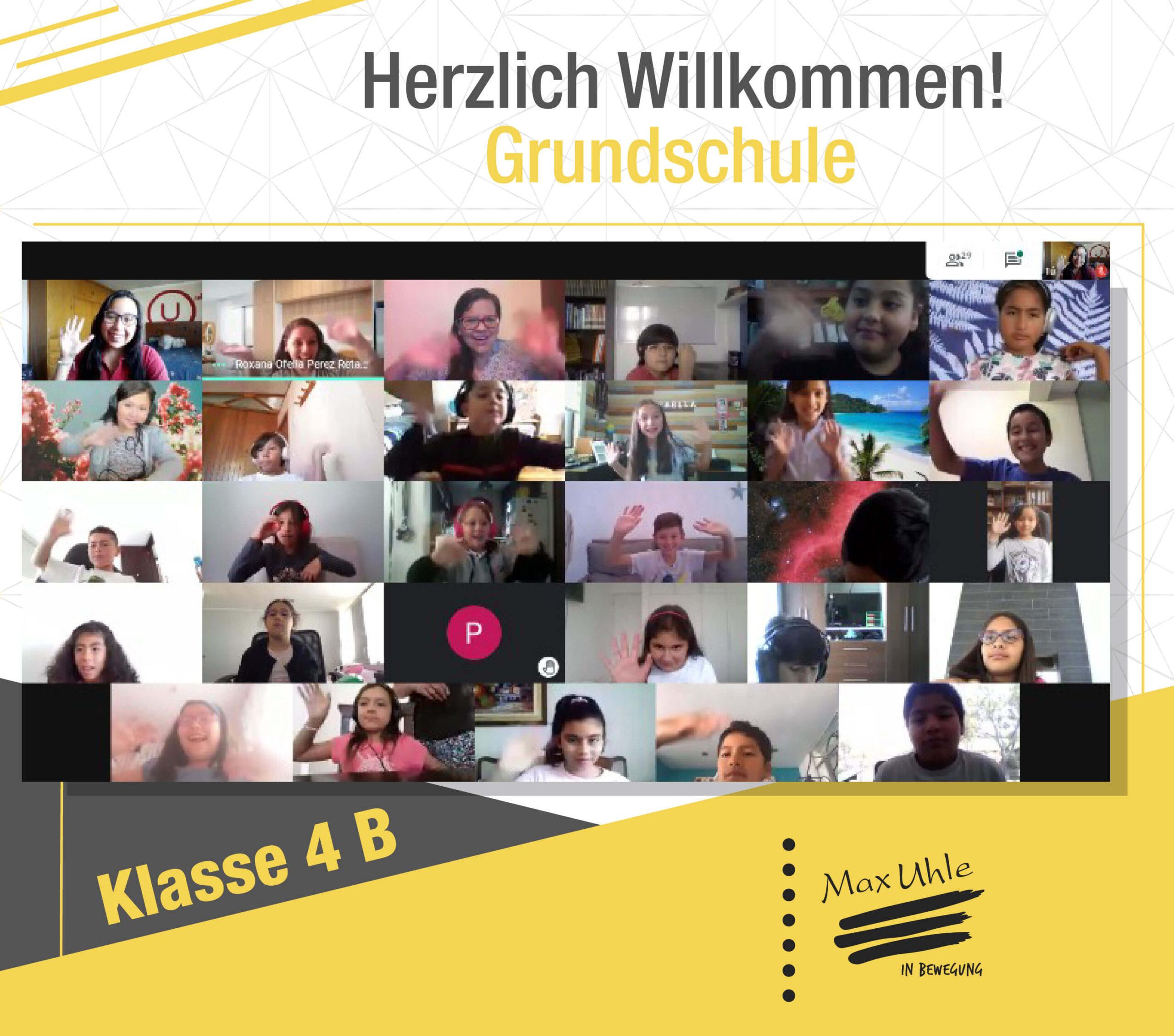 regreso a clases 2021 Grundschule 4B