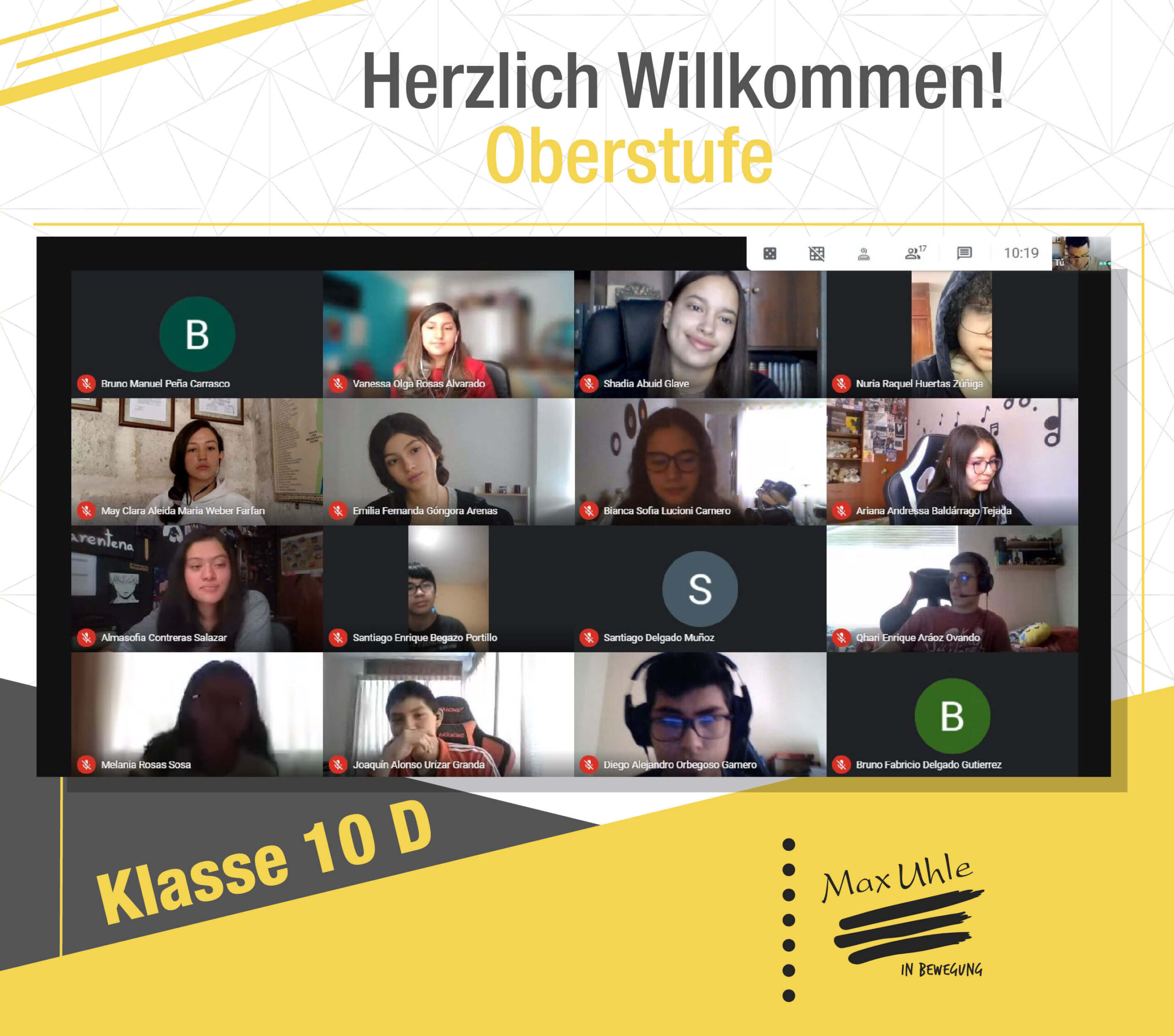 regreso a clases 2021 Oberstufe 10D