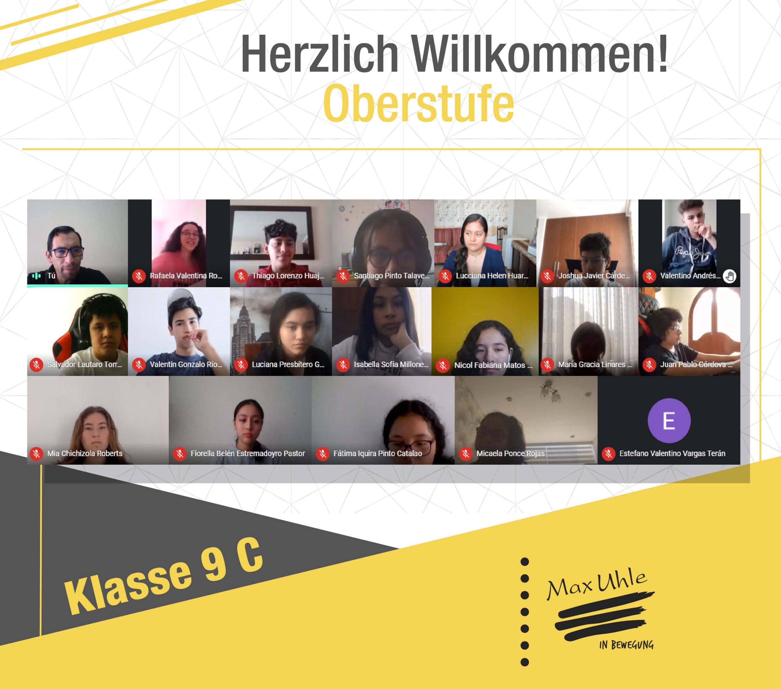 regreso a clases 2021 Oberstufe 9C