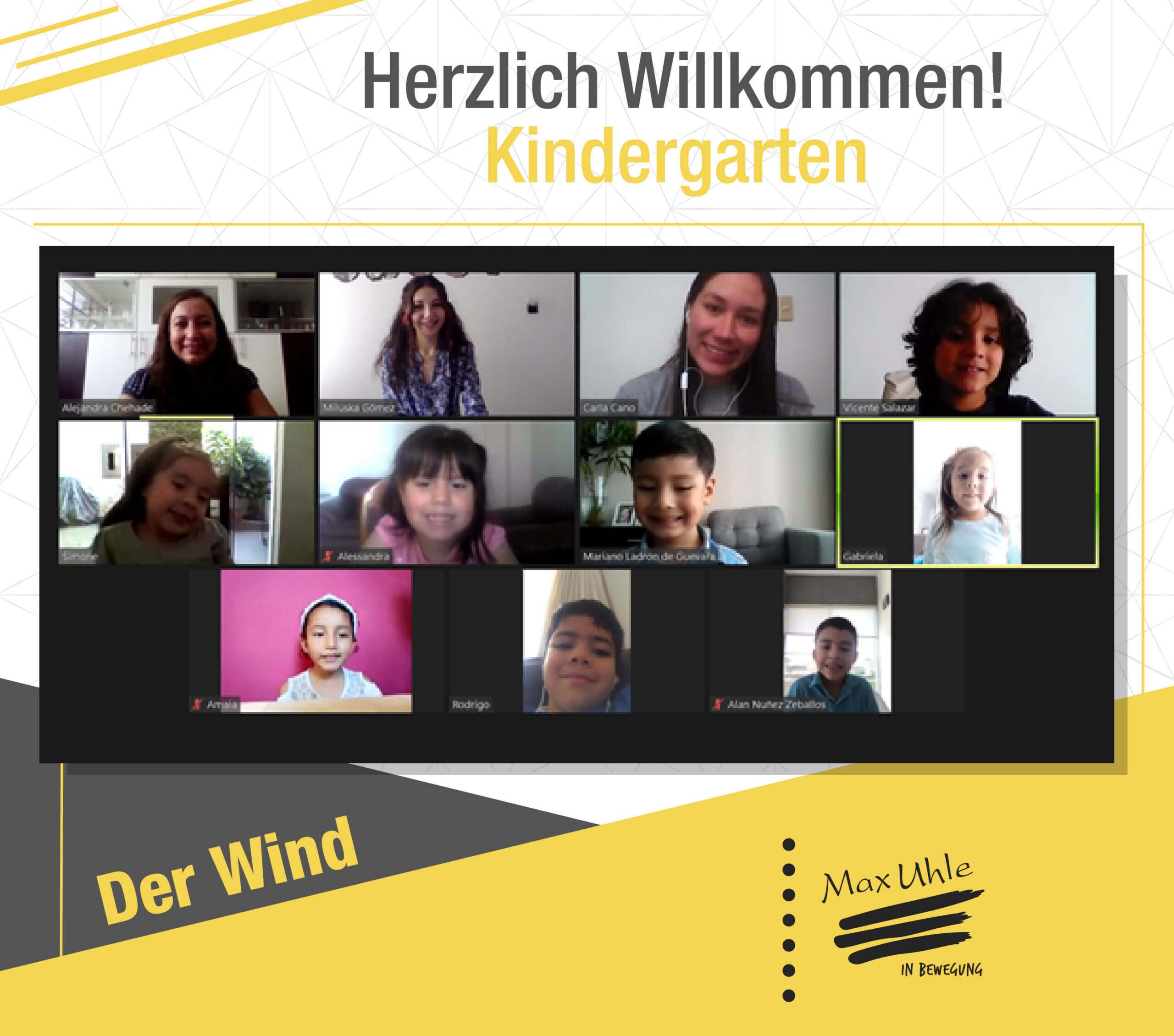 regreso a clases 2021 kindergarten der wind