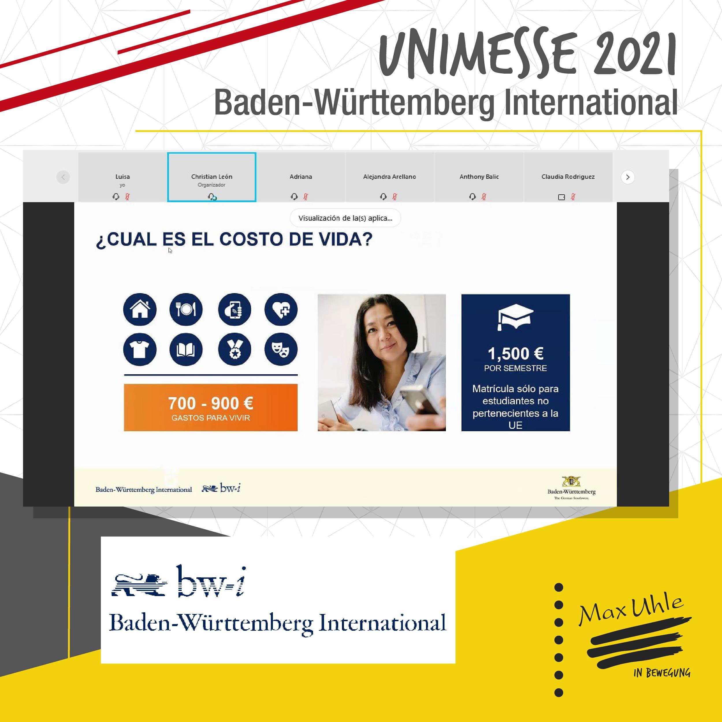Baden - Unimesse 2021 Colegio Max Uhle