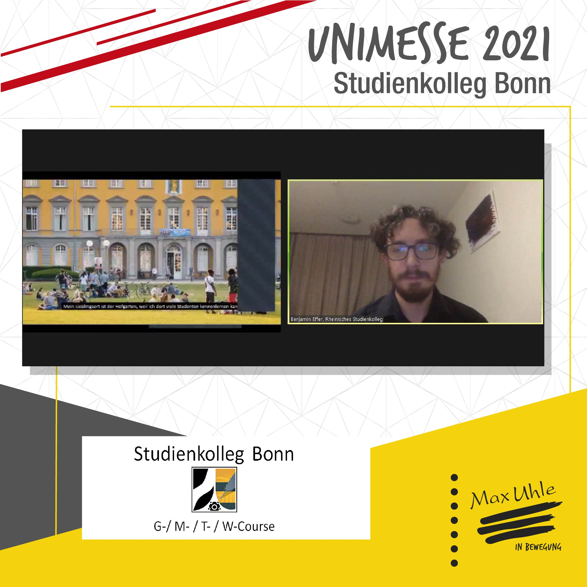 Bonn - Unimesse 2021 Colegio Max Uhle