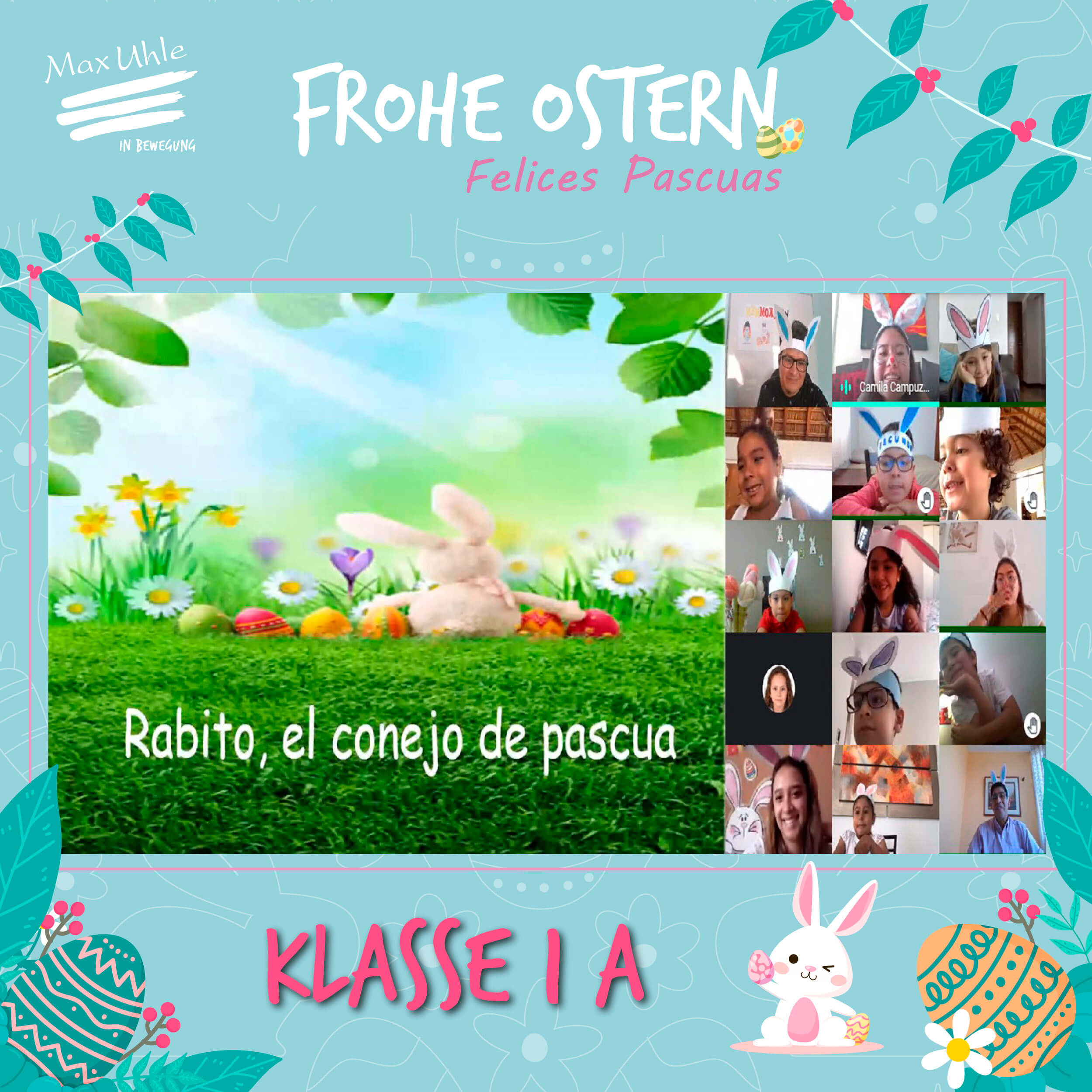 Clase 1 A - Osterhase 2