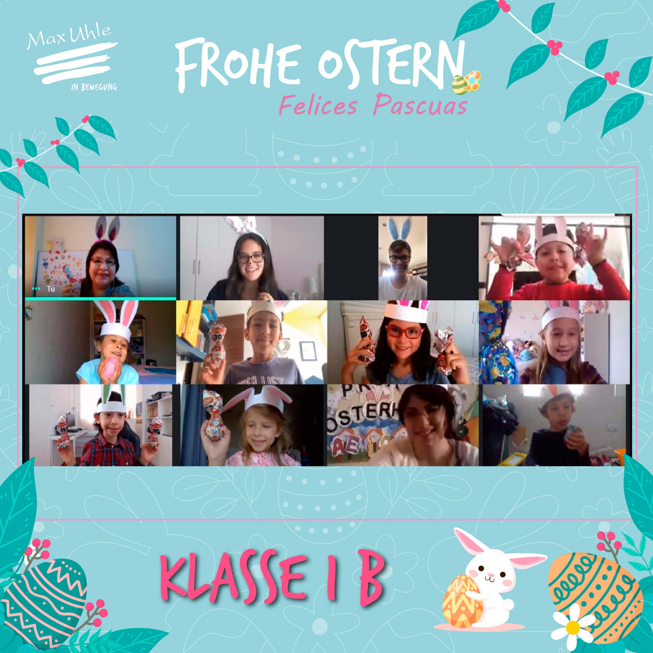 Clase 1 B - Osterhase 1