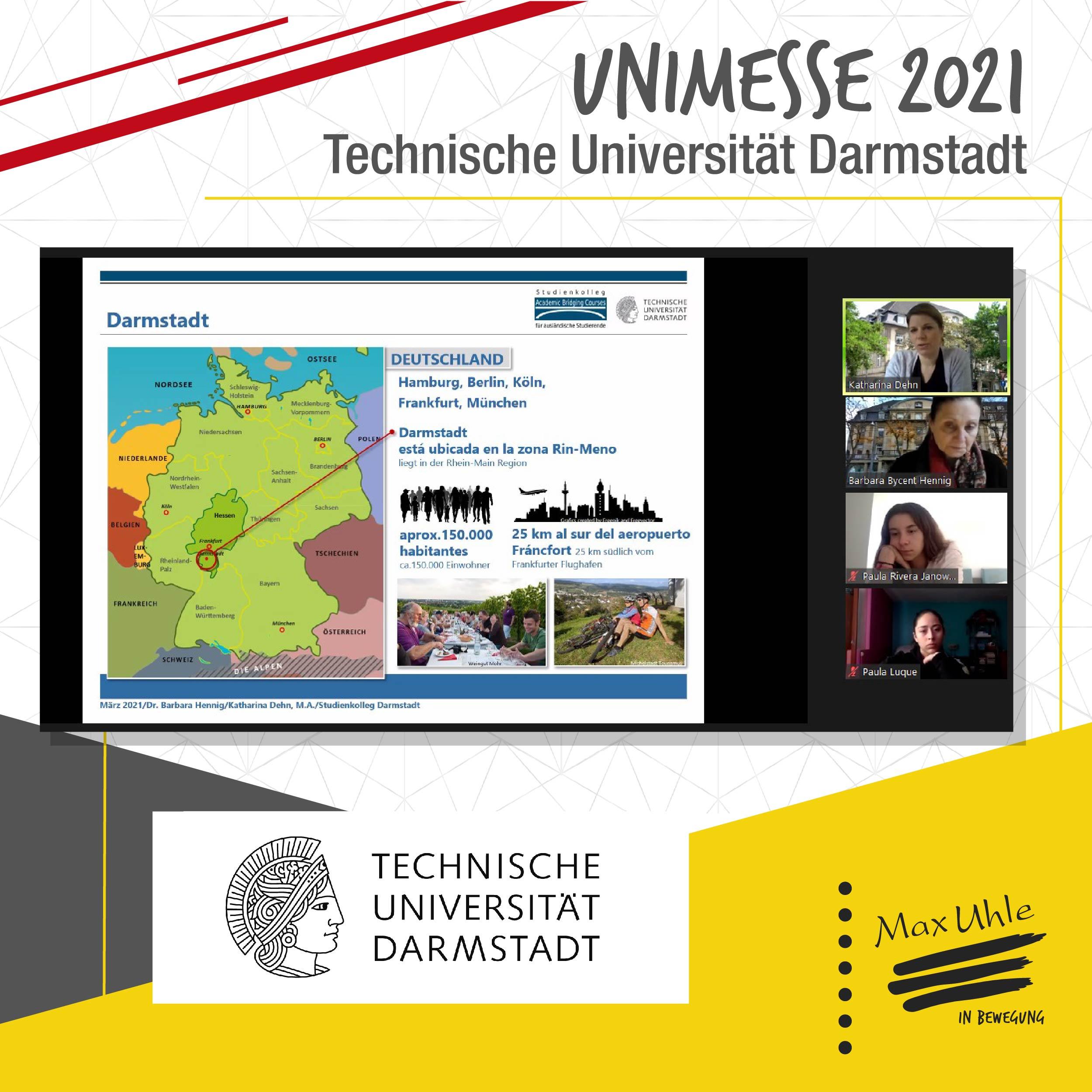 Darmstadt - Unimesse 2021 Colegio Max Uhle