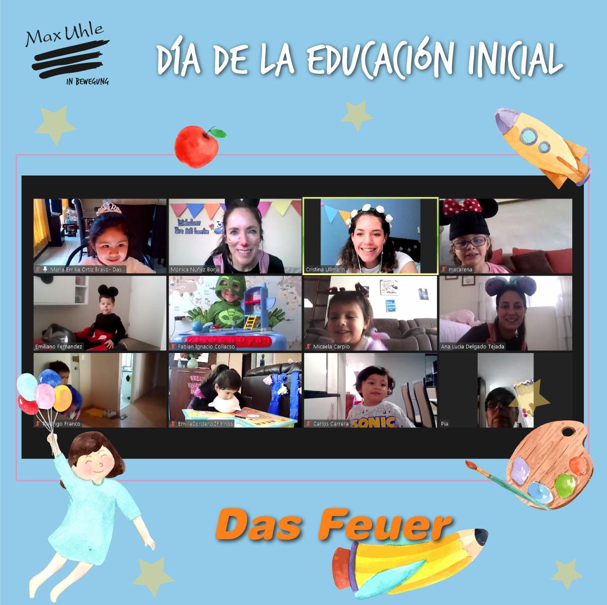 Das Feuer 3 Día de la Educación Inicial