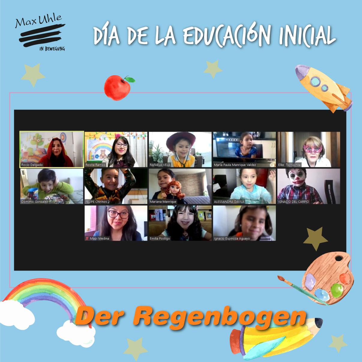 Das Regenbogen 2 Día de la Educación Inicial