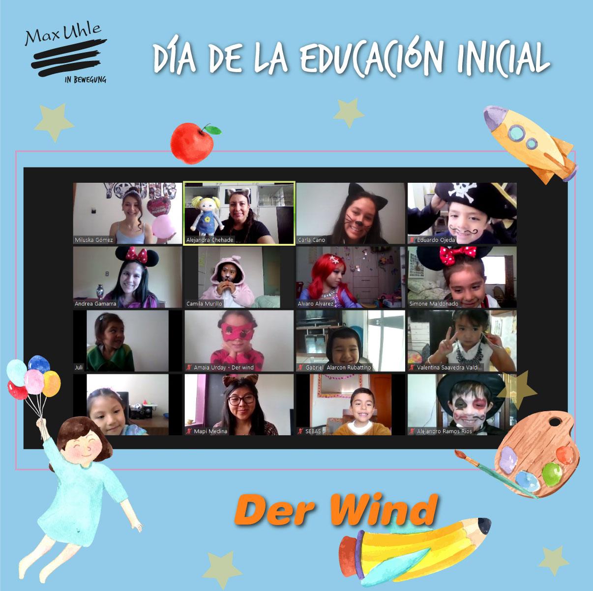 Das Wind 2 Día de la Educación Inicial