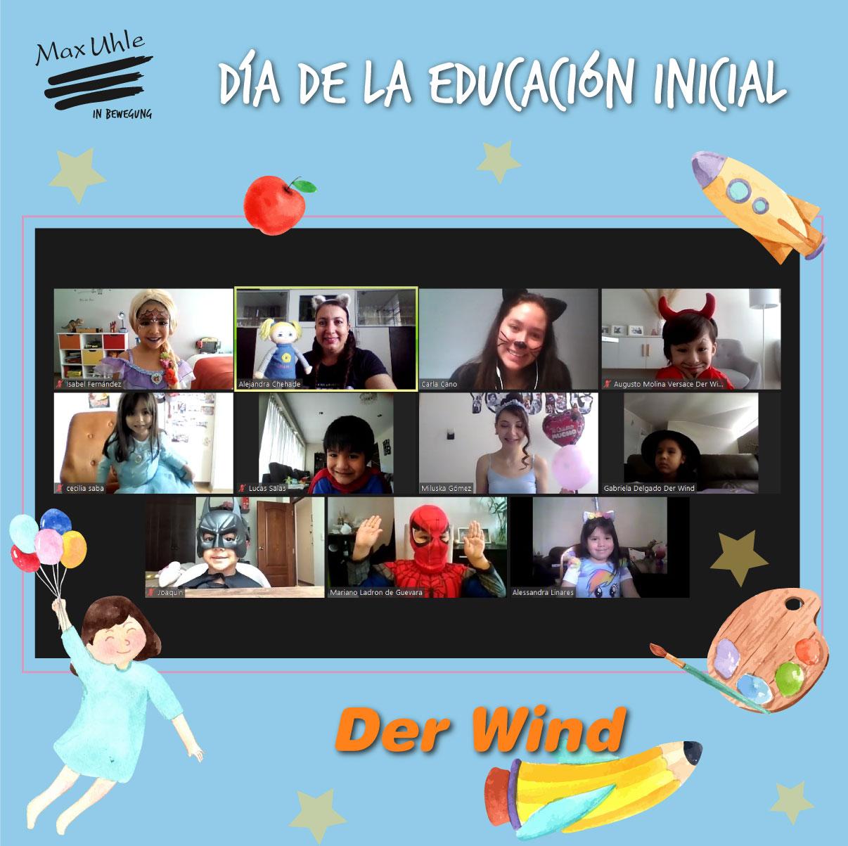 Das Wind 3 Día de la Educación Inicial