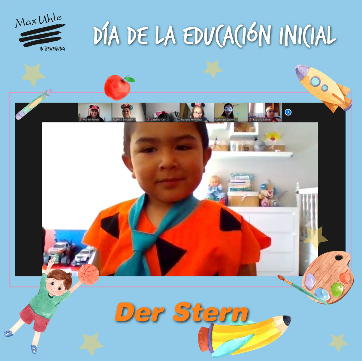 Der Stern 1 Día de la Educación Inicial