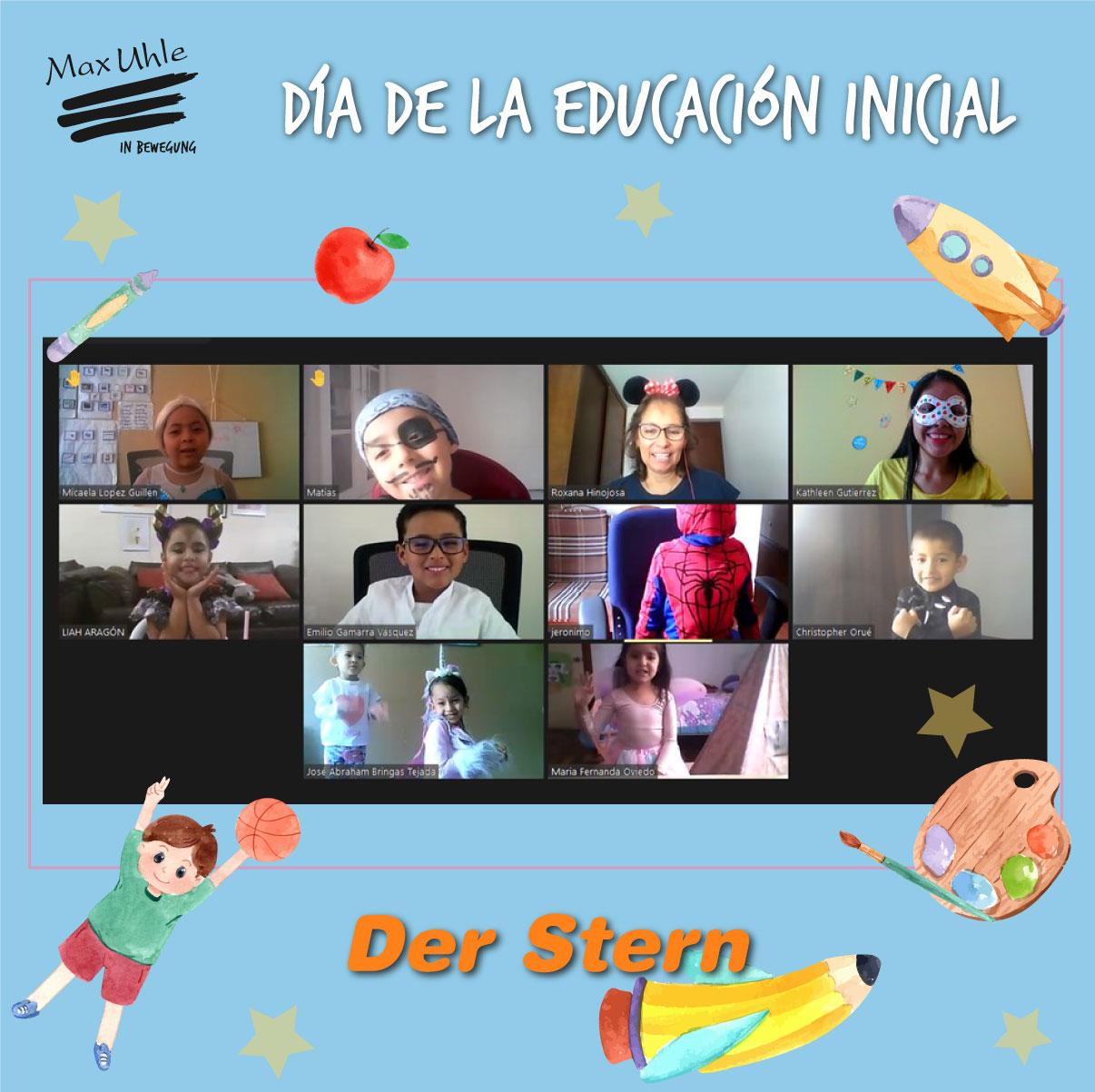 Der Stern 2 Día de la Educación Inicial