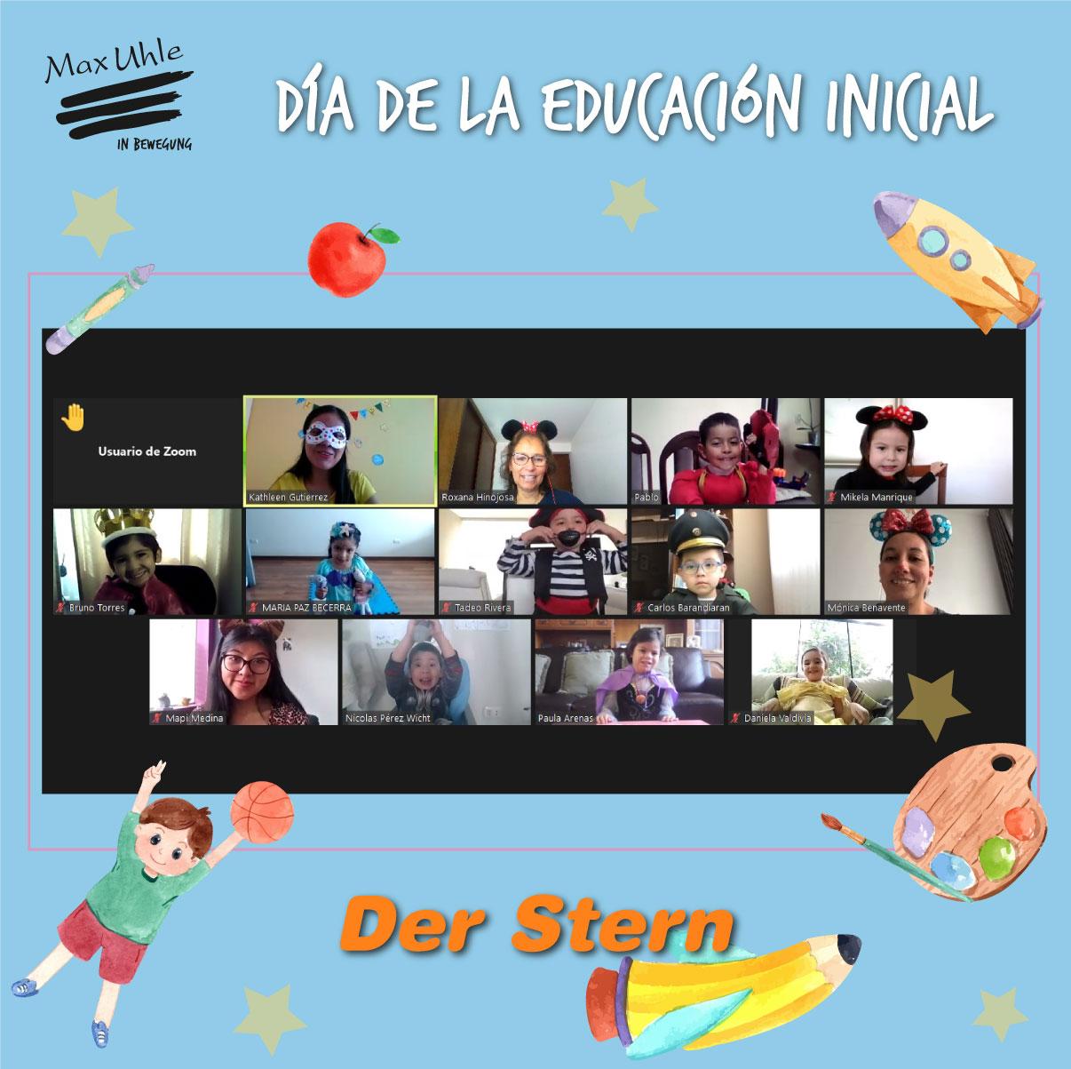 Der Stern 3 Día de la Educación Inicial