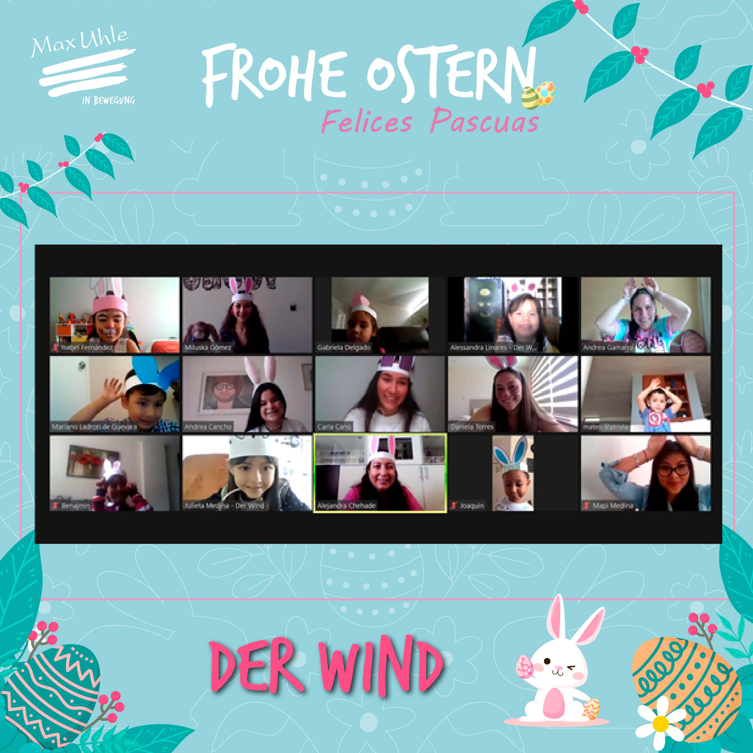 Der Wind 2 Osterhase