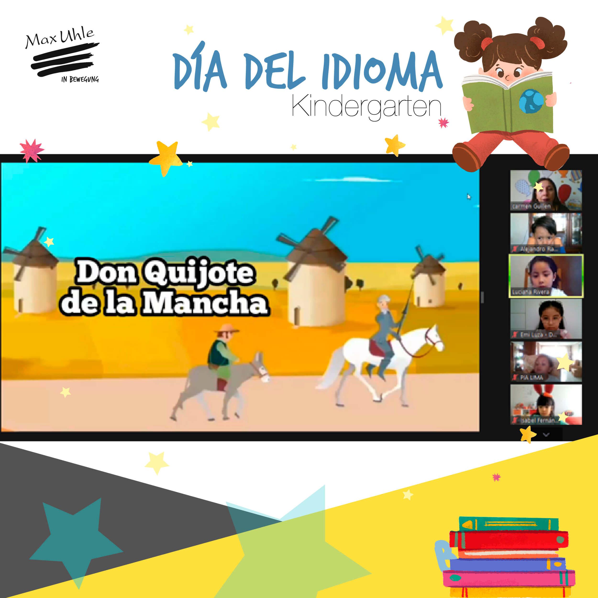 Dia del Idioma Kindergarten 1