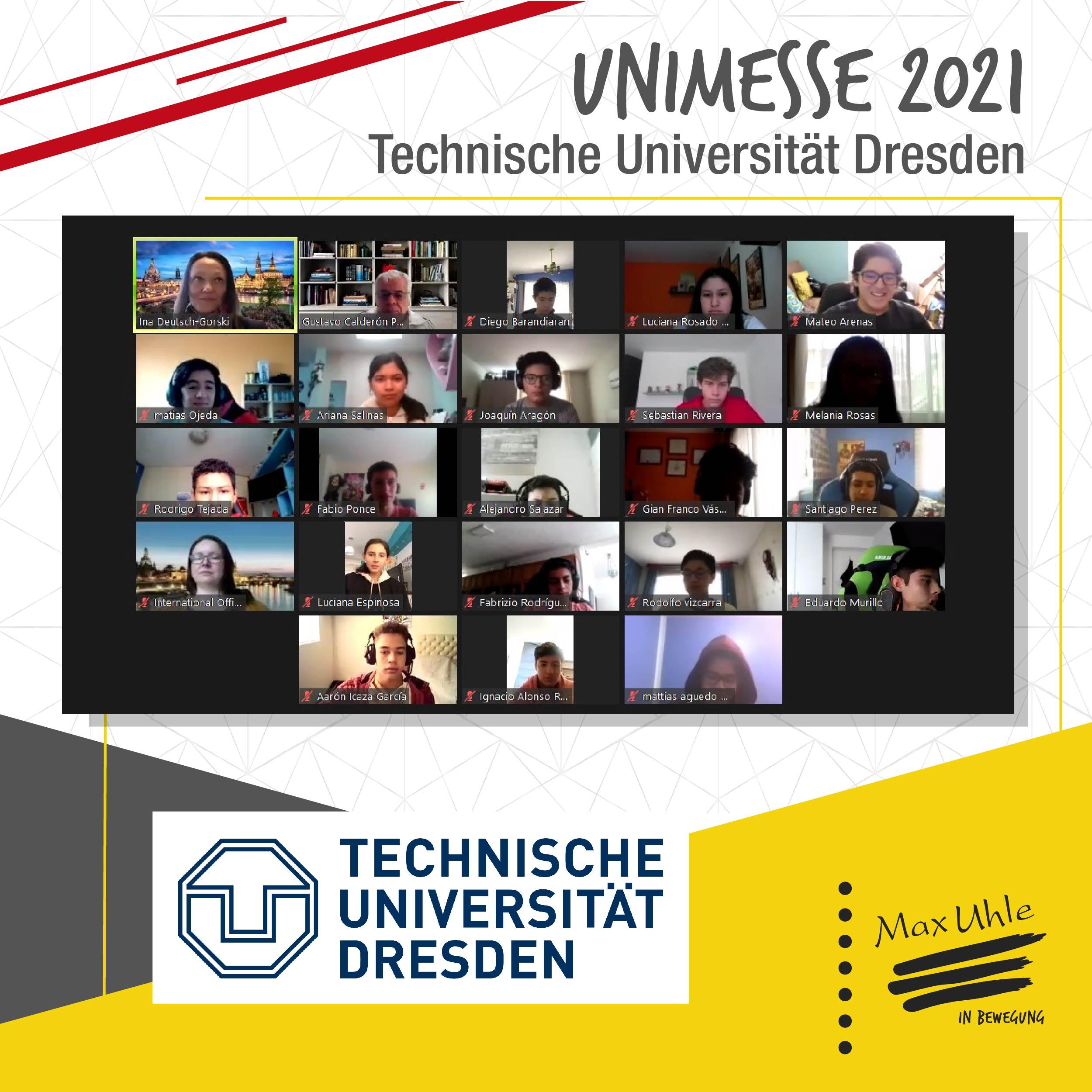 Dresden - Unimesse 2021 Colegio Max Uhle