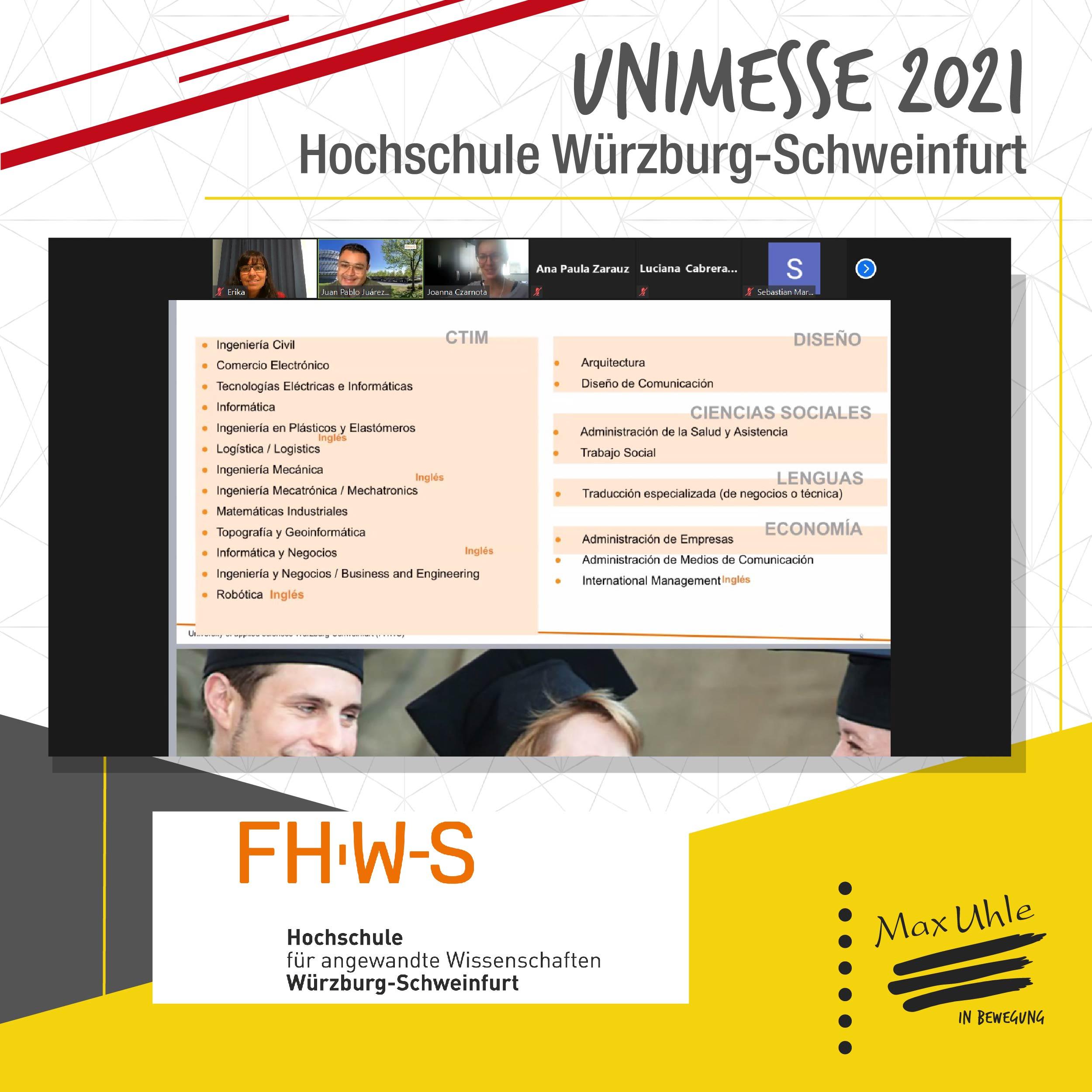 FHWS - Unimesse 2021 Colegio Max Uhle
