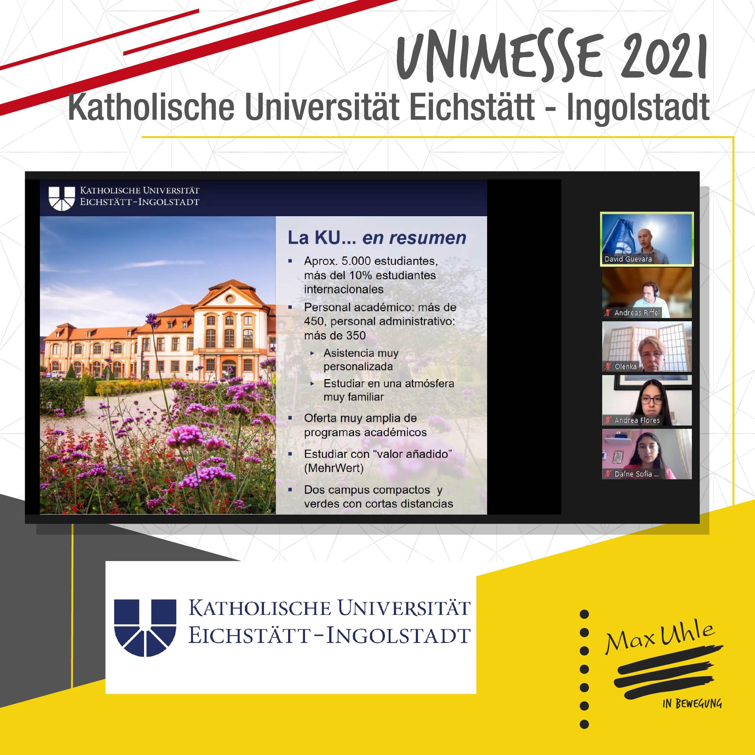 Katholische - Unimesse 2021 Colegio Max Uhle