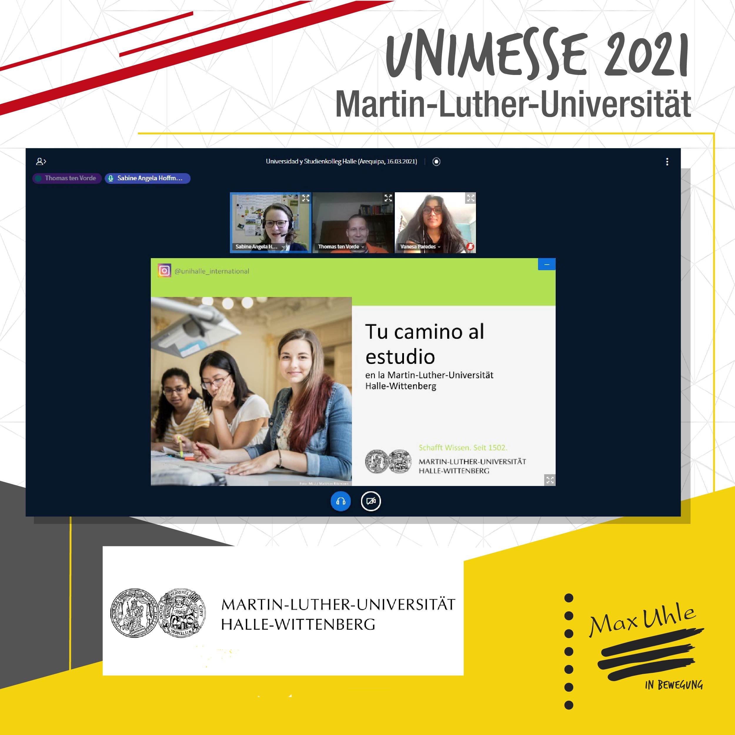 Martin Luther - Unimesse 2021 Colegio Max Uhle