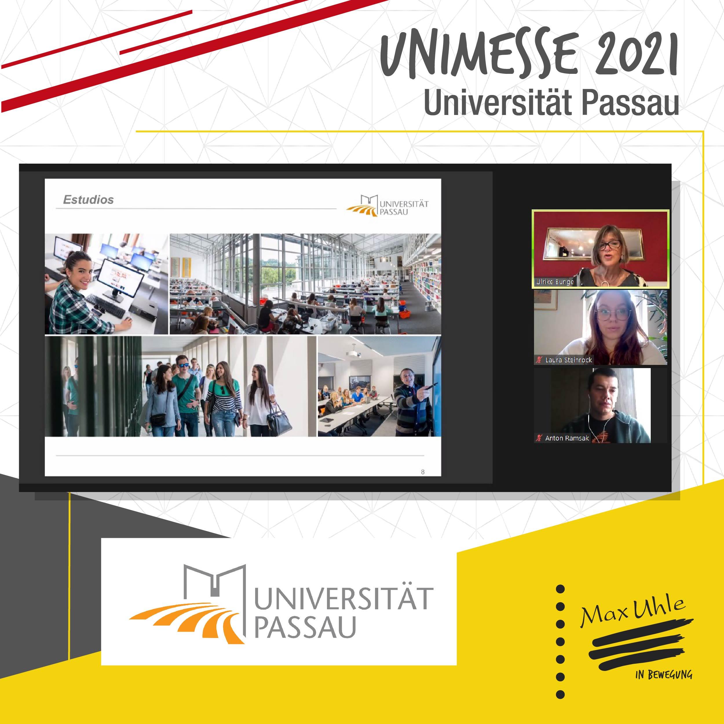 Passau - Unimesse 2021 Colegio Max Uhle