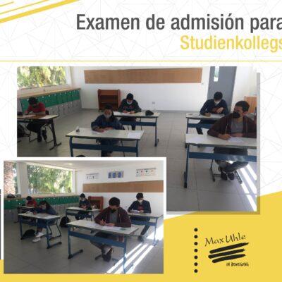 examen de admision para studienkollegs max uhle arequipa