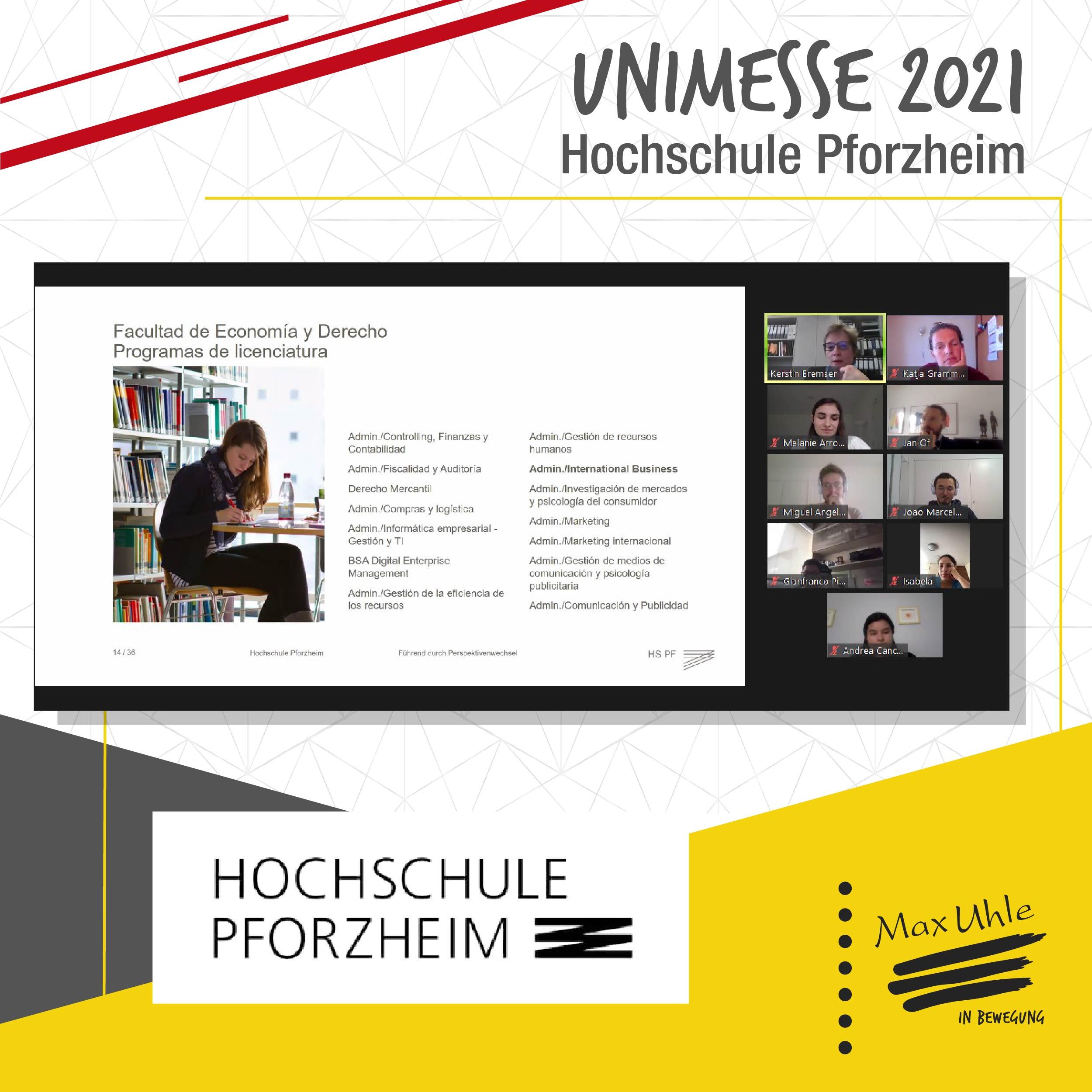 Pzorheim - Unimesse 2021 Colegio Max Uhle