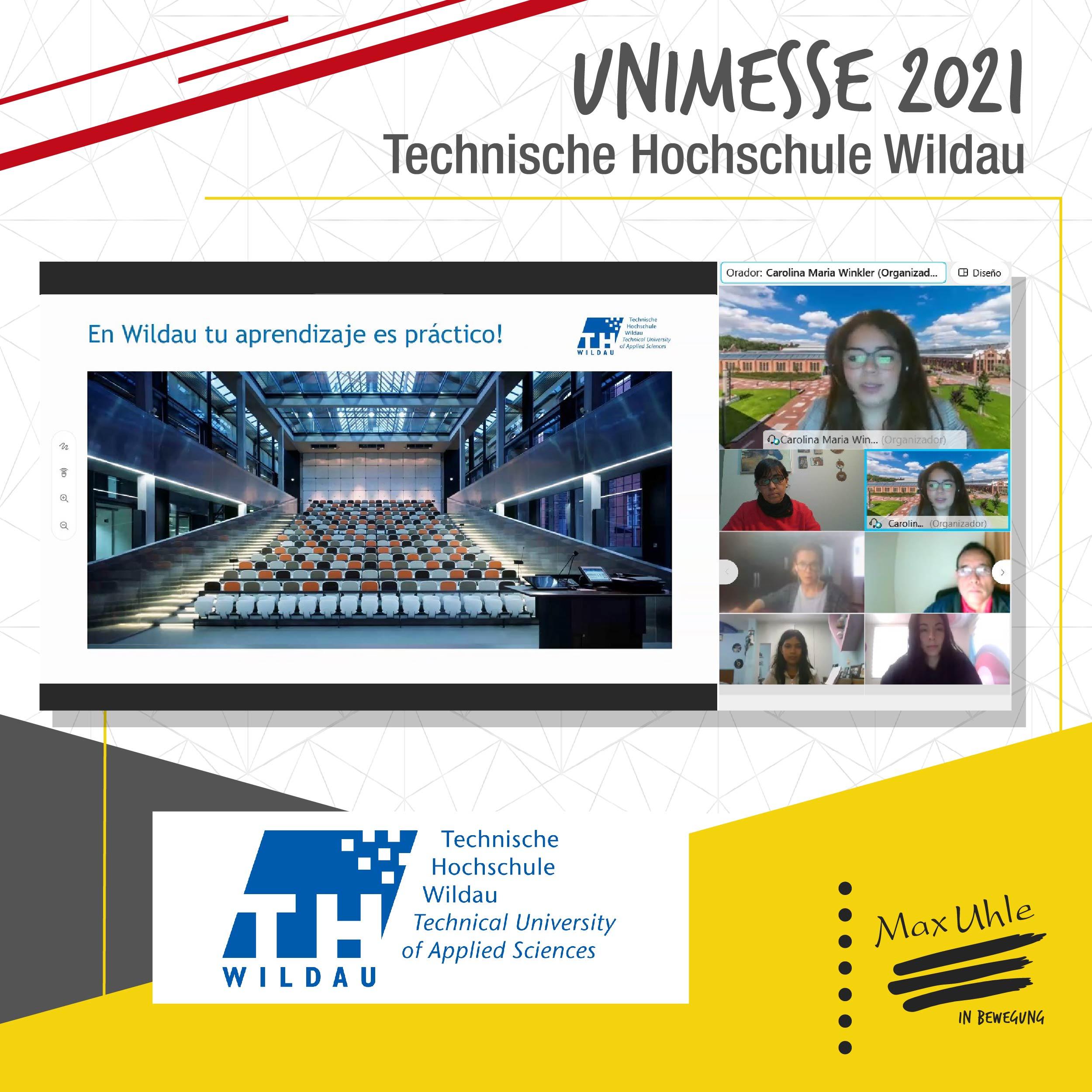 TH Wildau - Unimesse 2021 Colegio Max Uhle