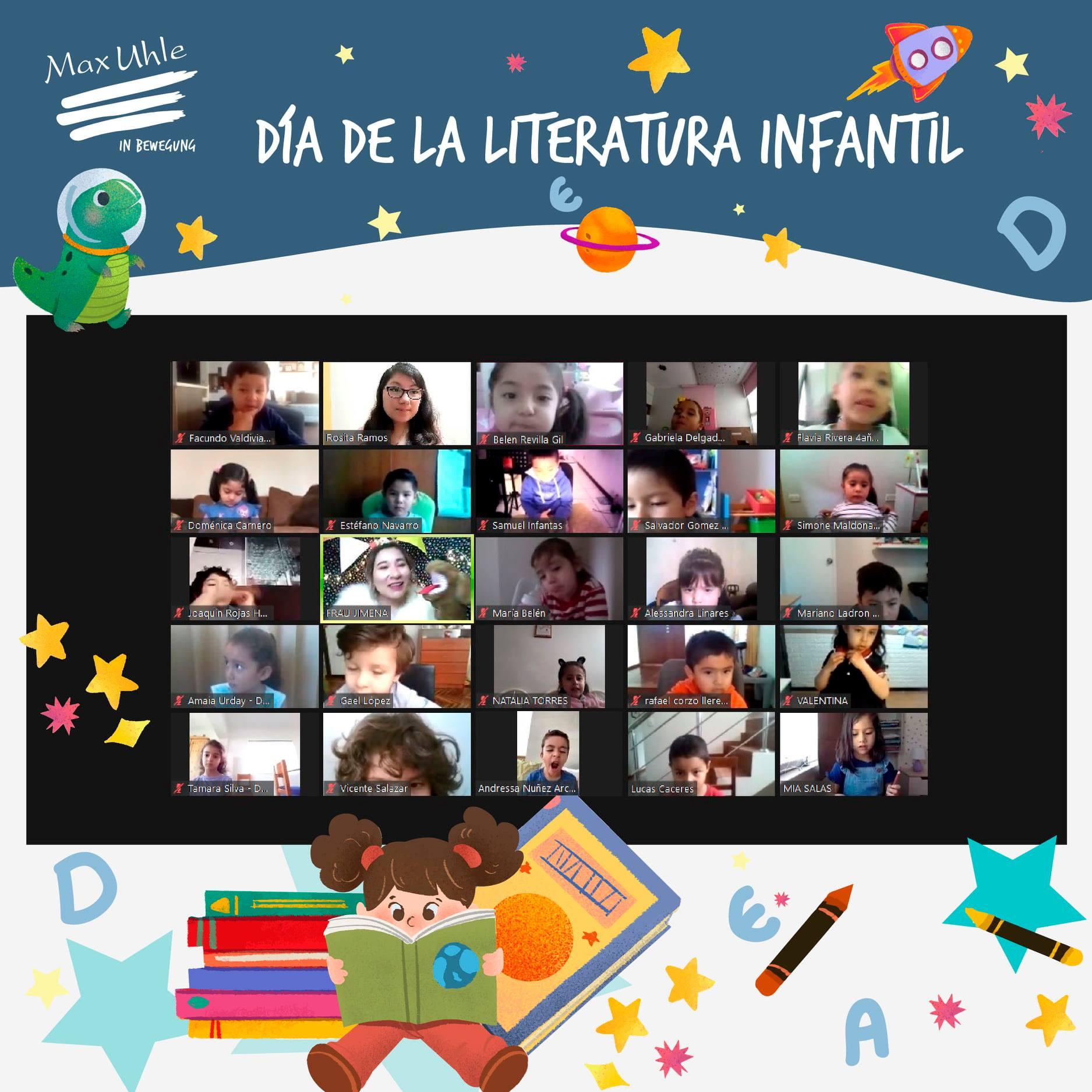 dia de la literatura infantil colegio peruano aleman max uhle