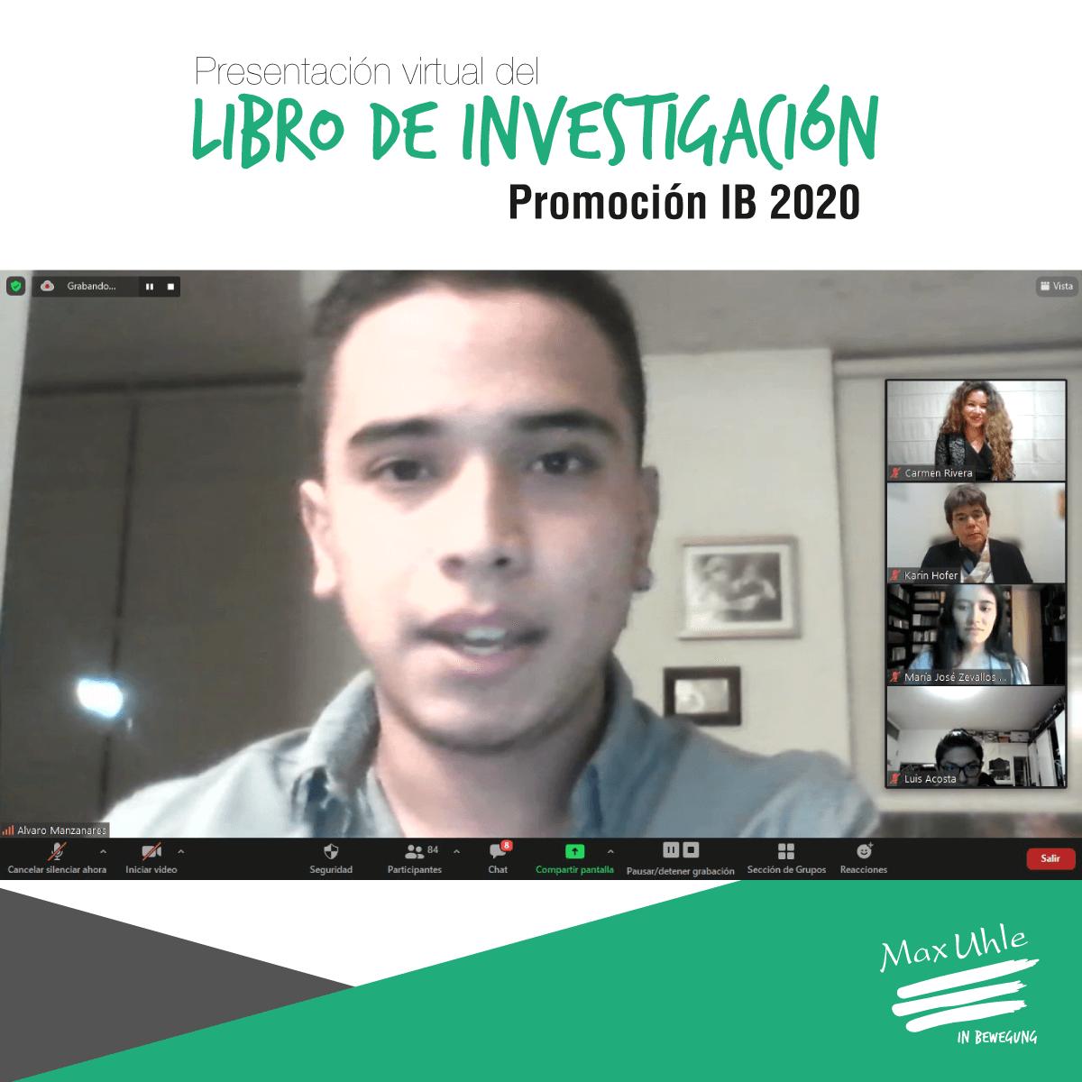 presentacion libro de investigacion IB 2020