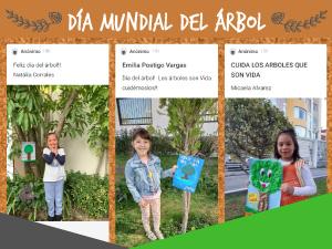 dia mundial del arbol kindergarten