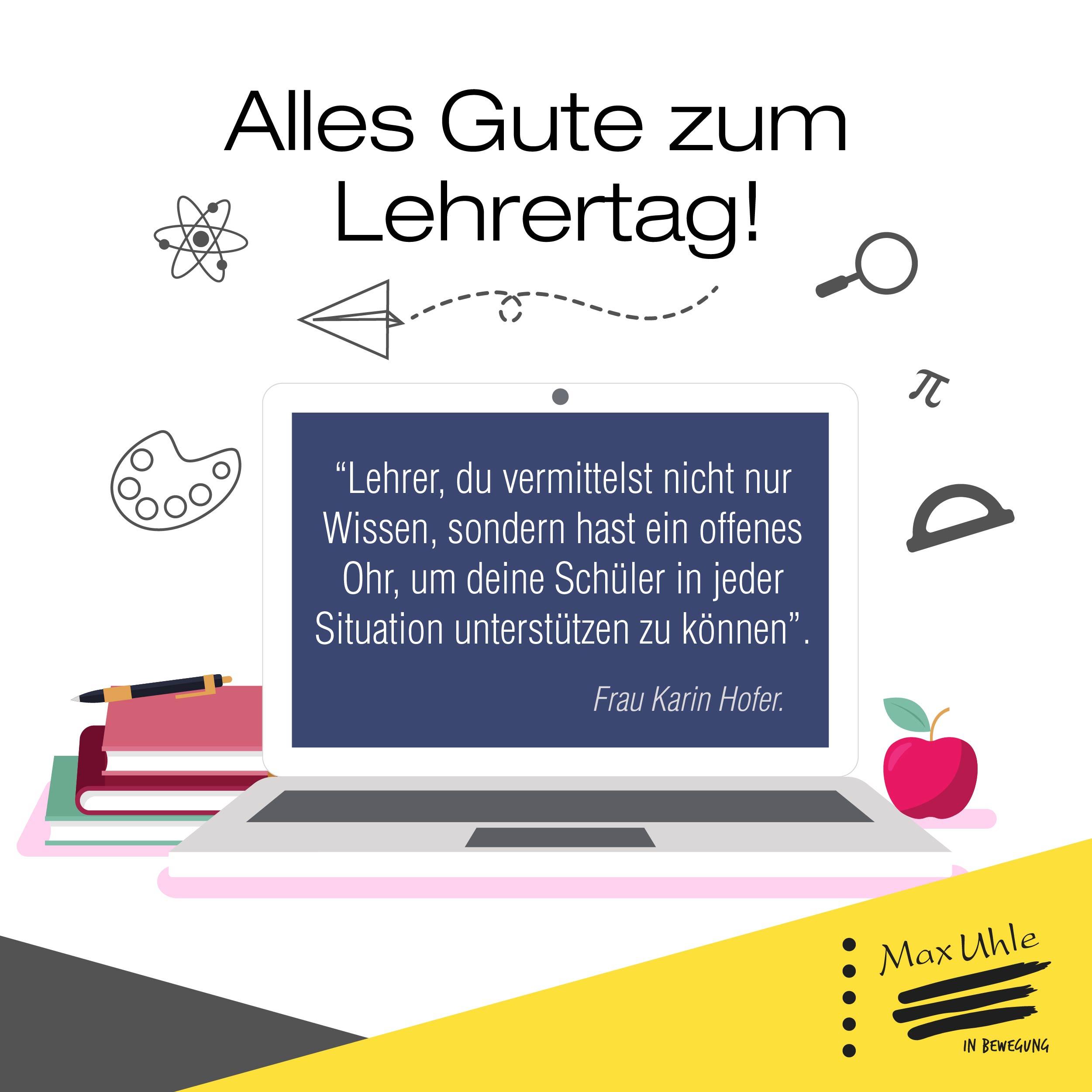 Tarjeta en alemán - Día del Maestro-03