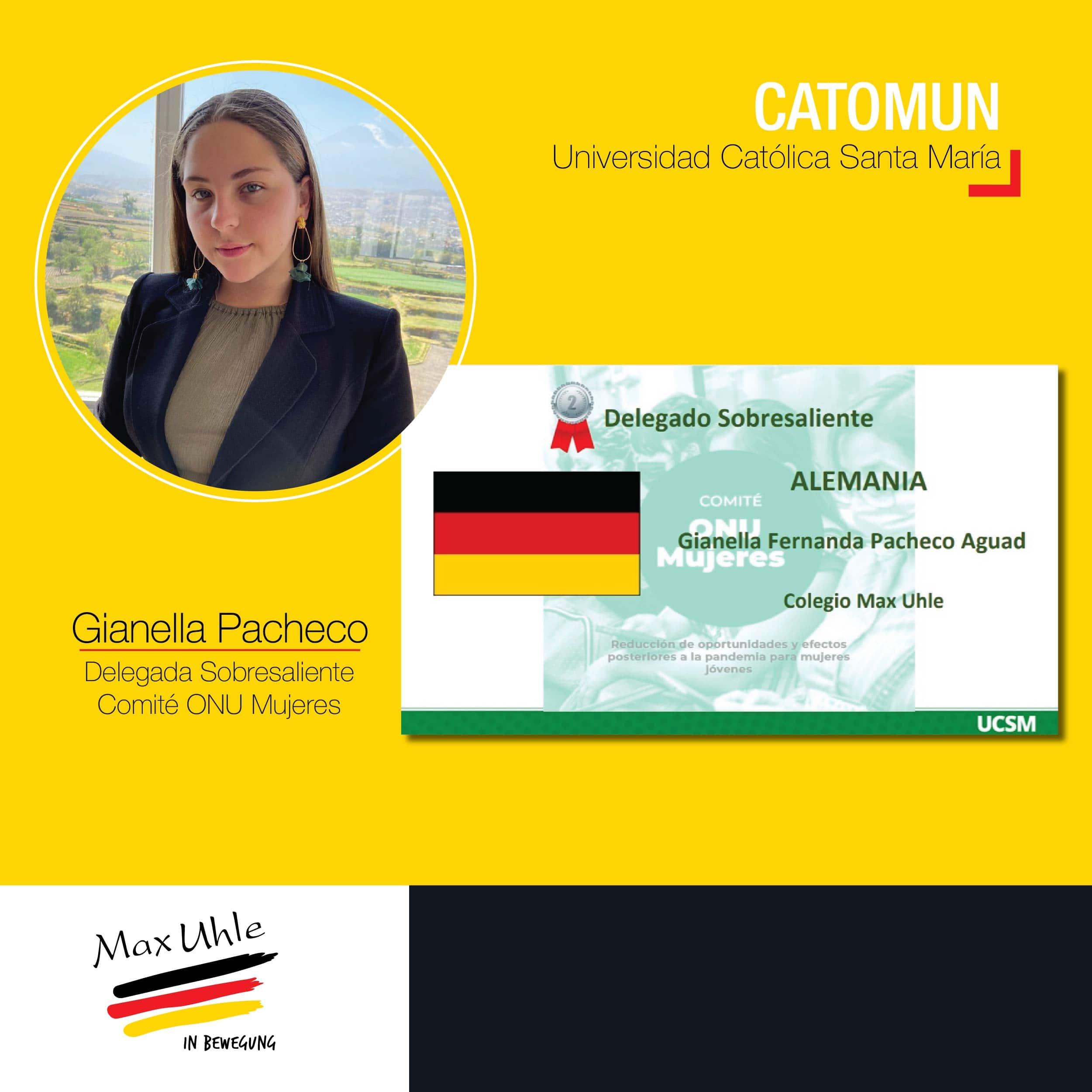 Gianella Pacheco CATOMUN