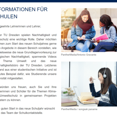 TU Dresden Information